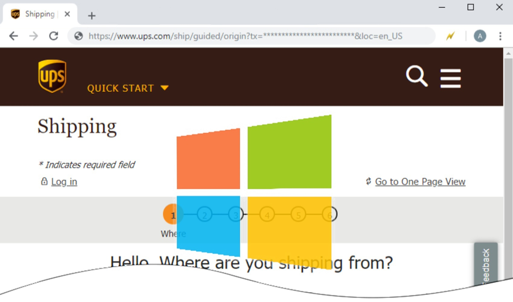 ups windows browser 5