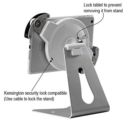 Arkscan iPad Universal Tablet Holder Stand 360° Rotation Aluminum Steel /& Alloy